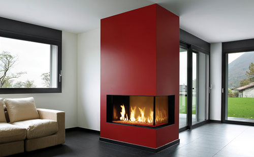 Modern Gas Fireplace Shreveport